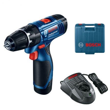 Aku vrtačka s příklepem Bosch GSB 120-LI Professional, 2 x aku 1,5Ah 06019F3006